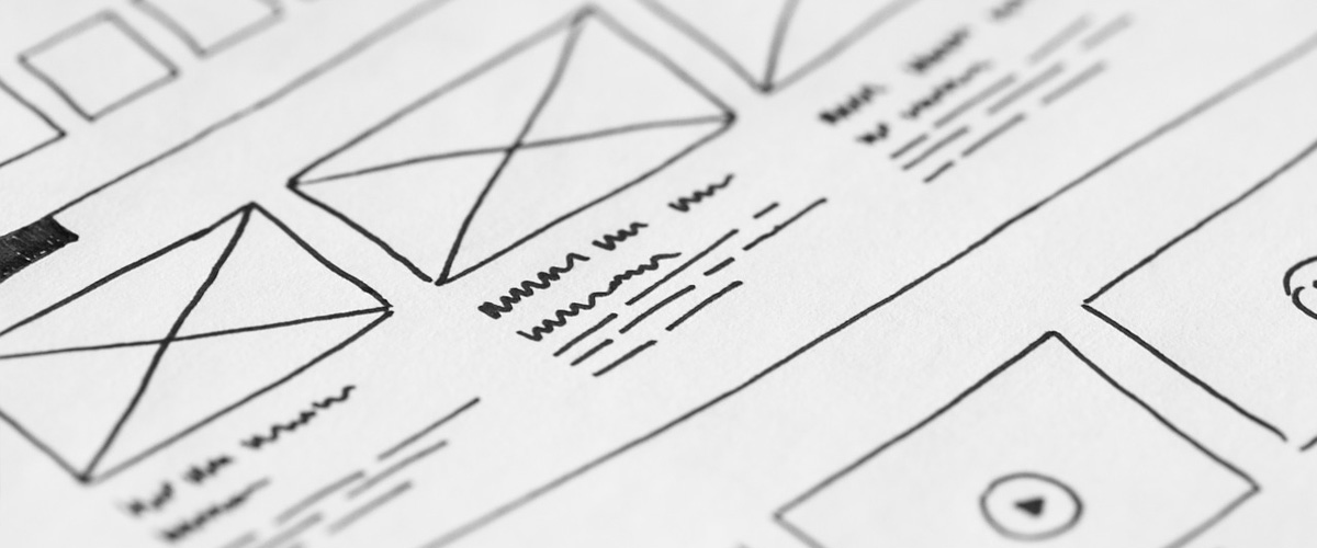 Wireframes close up