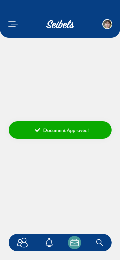 Document approved